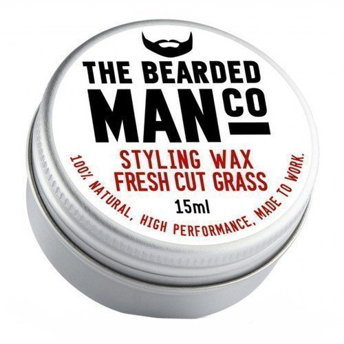 The Bearded Man Company Moustache Wax Oak Barrel