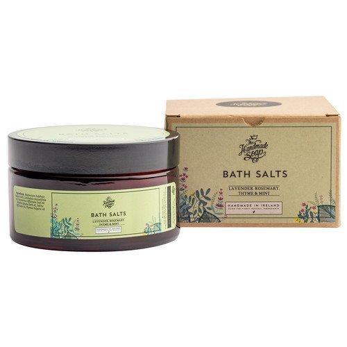 The Handmade Soap Bath Salts Lavender Rosemary & Mint