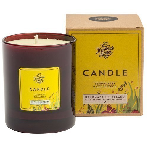 The Handmade Soap Candle Lemongrass & Cedarwood