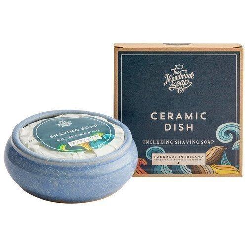 The Handmade Soap Ceramic Dish Including Shaving Soap
