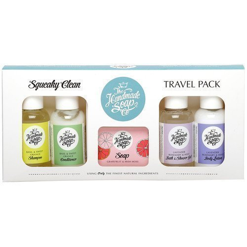 The Handmade Soap Squeaky Clean Travel Pack