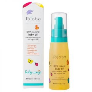 The Jojoba Company 100% Natural Baby Oil 100 Ml