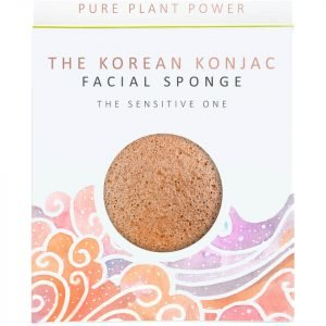The Konjac Sponge Company The Elements Air Facial Sponge Calming Chamomile / Pink Clay 30 G