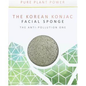 The Konjac Sponge Company The Elements Earth Facial Sponge Energising Tourmaline 30 G