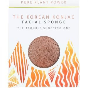 The Konjac Sponge Company The Elements Fire Facial Sponge Purifying Volcanic Scoria 30 G