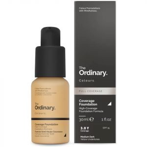 The Ordinary Coverage Foundation With Spf 15 By The Ordinary Colours 30 Ml Various Shades 3.0y