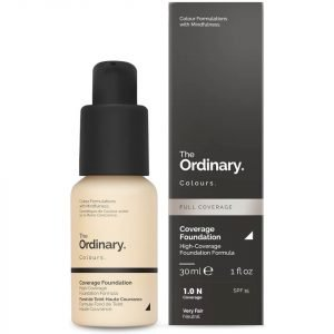 The Ordinary Coverage Foundation With Spf 15 By The Ordinary Colours 30 Ml Various Shades 3.1y