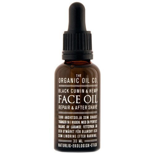 The Organic Oil Co. Black Cumin & Hemp Face Oil Repair & After Shave