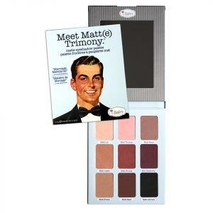 Thebalm Meet Matt E Trimony Eyeshadow Palette