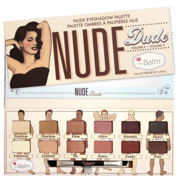 Thebalm Nude Dude Eyeshadow Palette 9.6 G