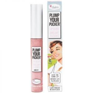 Thebalm Plump Your Pucker Lip Gloss Various Shades Amplify