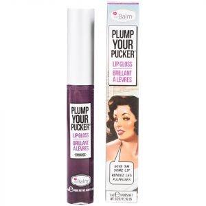 Thebalm Plump Your Pucker Lip Gloss Various Shades Enhance