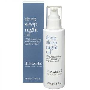 This Works Deep Sleep Night Oil 120 Ml