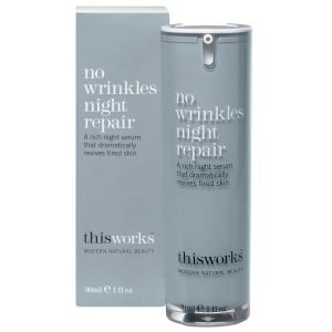 This Works No Wrinkles Night Repair 30 Ml