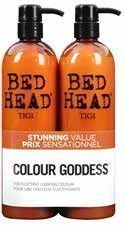 Tigi Bed Head Colour Combat Colour Goddess Tweens Tuplapakkaus 750 ml shampoo & hoitoaine