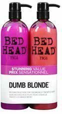 Tigi Bed Head Colour Combat Dumb Blonde Tweens Tuplapakkaus 750 ml shampoo & hoitoaine
