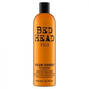 Tigi Bed Head Colour Goddess Oil Infused Shampoo For Coloured Hair 750 Ml