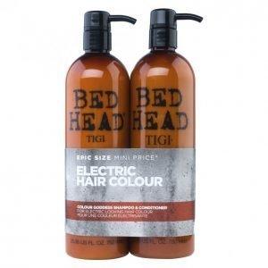 Tigi Bed Head Colour Goddess Shampoo & Hoitoaine 2 X 750 Ml