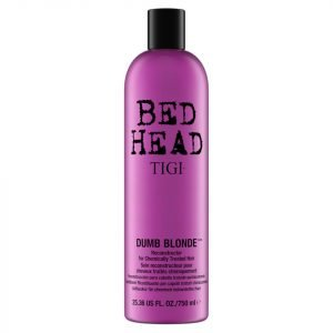 Tigi Bed Head Dumb Blonde Reconstructor For Blonde Coloured And Chemically Treated Hair 750 Ml