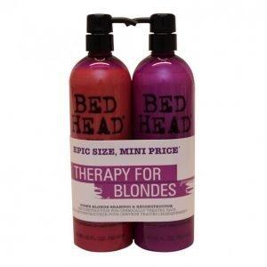 Tigi Bed Head Dumb Blonde Shampoo & Hoitoaine 2 X 750 Ml