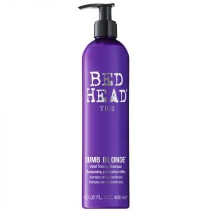 Tigi Bed Head Dumb Blonde Violet Toning Shampoo 400 Ml