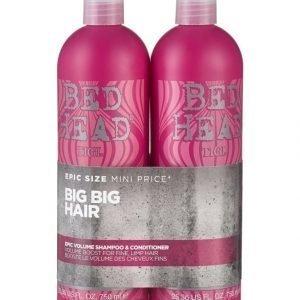 Tigi Bed Head Epic Volume Tweens Shampoo Ja Hoitoaine 2 X 750 ml