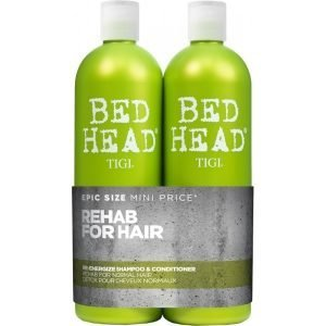 Tigi Bed Head Re Energize 2 Pack Shampoo Ja Hoitoaine