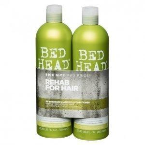 Tigi Bed Head Re-Energize Shampoo & Hoitoaine 2 X 750 Ml
