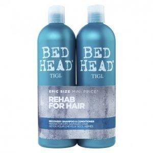 Tigi Bed Head Recovery Shampoo & Hoitoaine 2 X 750 Ml