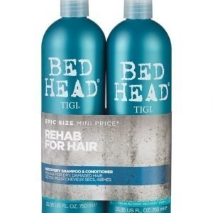 Tigi Bed Head Recovery Tweens Shampoo Ja Hoitoaine 2 X 750 ml