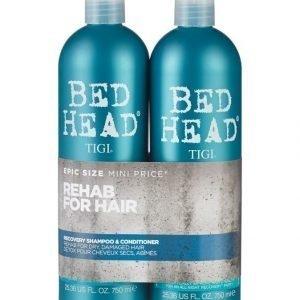 Tigi Bed Head Recovery Tweens Shampoo Ja Hoitoaine 2 X 750 ml