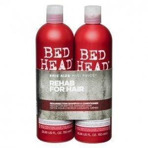 Tigi Bed Head Resurrection Shampoo & Hoitoaine 2 X 750 Ml