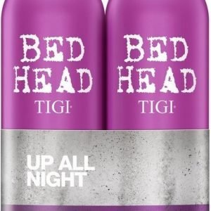 Tigi Bed Head Shampoo & Hoitoaine 2x750 Ml Fully Loaded