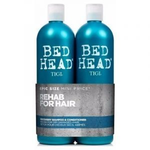 Tigi Bed Head Shampoo & Hoitoaine 2x750 Ml Recovery