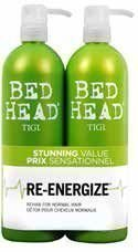 Tigi Bed Head Urban Antidotes Re-Energize Tweens Tuplapakkaus 750 ml shampoo & hoitoaine