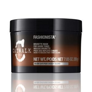 Tigi Catwalk Fashionista Brunette Mask Hiusnaamio 200 ml