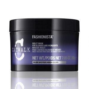 Tigi Catwalk Fashionista Violet Mask Hiusnaamio 200 ml