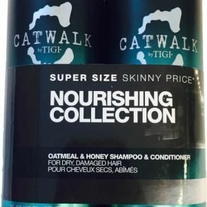 Tigi Catwalk Oatmeal & Honey Tweens Tuplapakkaus shampoo & hoitoaine 750 ml