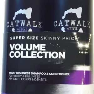 Tigi Catwalk Your Highness Tweens Tuplapakkaus shampoo & hoitoaine 750 ml
