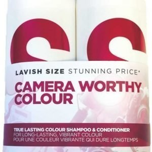 Tigi S-Factor True Lasting Colour Tweens Tuplapakkaus shampoo & hoitoaine 750 ml