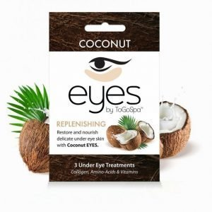 Togospa 3 Under Eye Treatments Kasvonaamio Coconut