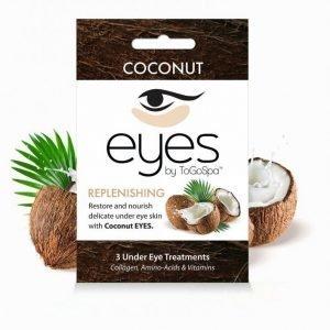 Togospa 3 Under Eye Treatments Kasvonaamio Coconut