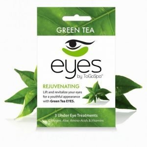 Togospa 3 Under Eye Treatments Kasvonaamio Green Tea