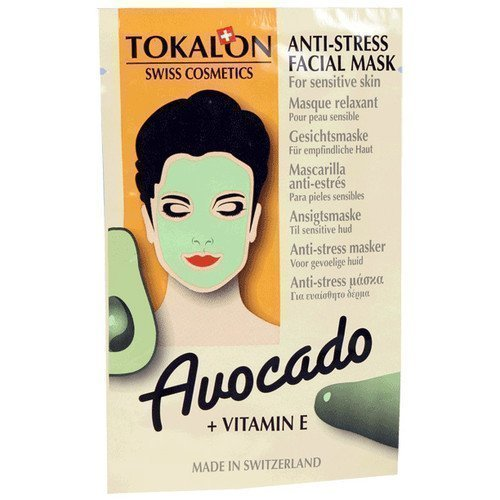 Tokalon Anti-Stress Facial Mask Avocado + Vitamin E