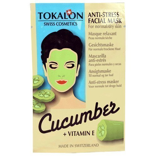 Tokalon Anti-Stress Facial Mask Cucumber + Vitamin E