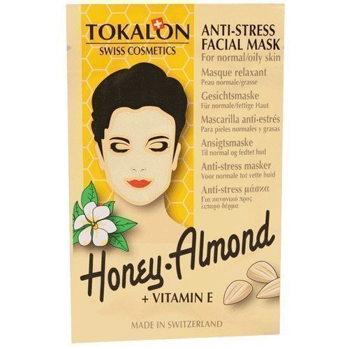 Tokalon Anti-Stress Facial Mask Honey Almond + Vitamin E
