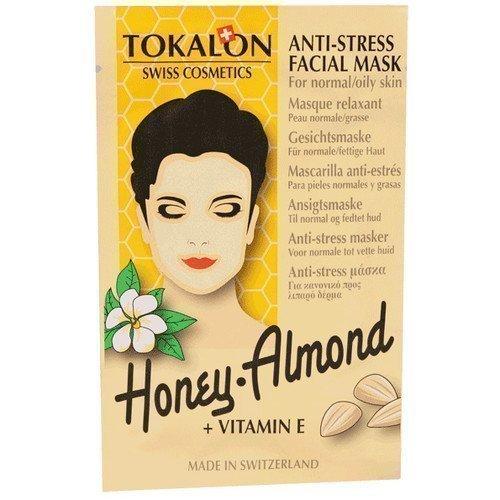 Tokalon Anti-Stress Facial Mask Honey Almond + Vitamin E