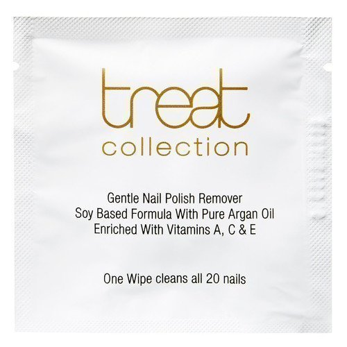 Treat Collection Gentle Nail Polish Remover Wipes GWP
