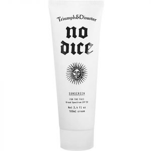 Triumph & Disaster No Dice Sunscreen Spf 50 100 Ml