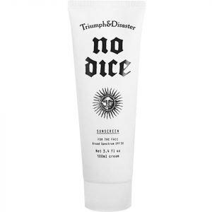 Triumph & Disaster No Dice Sunscreen Spf 50 100 Ml